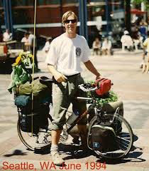 Robert Meyring Cycling in Seattle